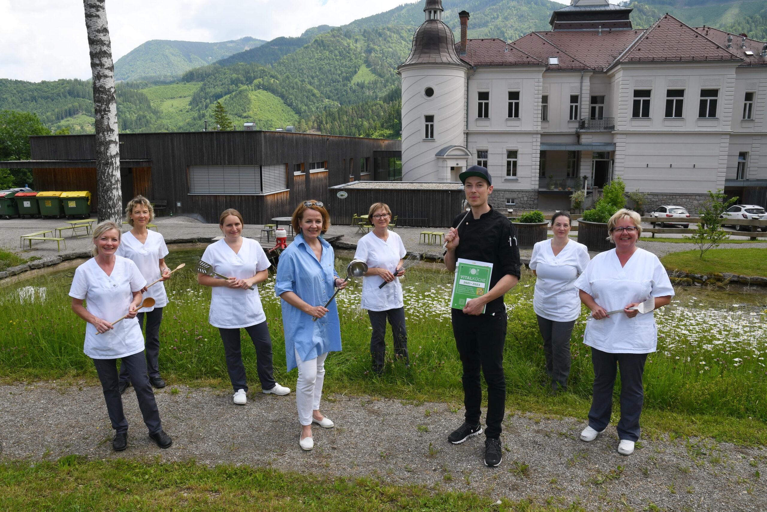 Besuch Landesrätin Mag.a Christiane Teschl-Hofmeister